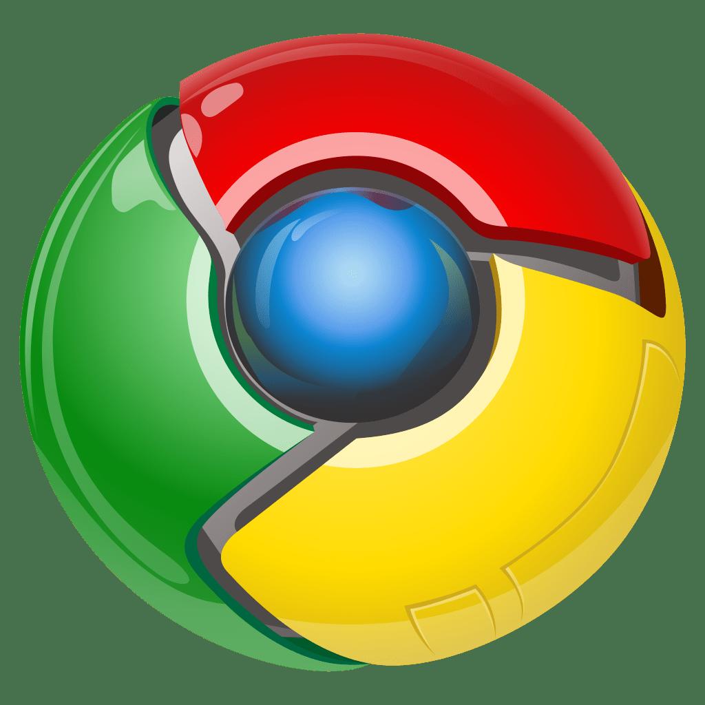 логотип google chrom