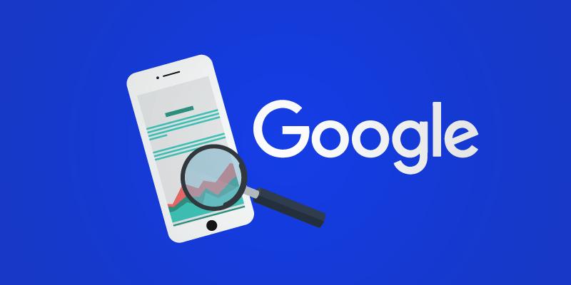 мобильная выдача google